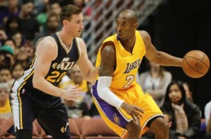 Kobe Bryant Goes To Work Against The Utah Jazz (Video)