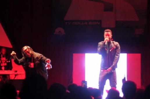 Ty Dolla Sign Brings Out Casey Veggies In Maryland (Video)