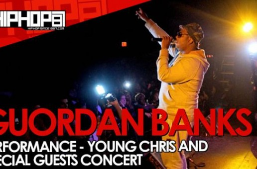 Guordan Banks Performs At The TLA In Philly (10/09/14) (Video)