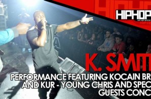 K. Smith Performs At The TLA In Philly (10/09/14) (Video)