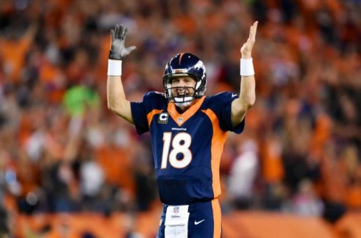 Man Among Boys: Peyton Manning Breaks Brett Favre's NFL Touchdown Record