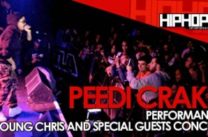 """Peedi Crakk Performs """"Fall Back"""" At The TLA In Philly (10/09/14) (Video)"""