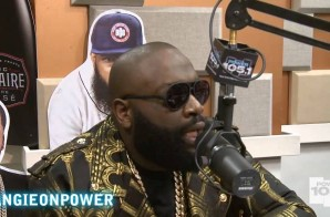 Rick Ross Talks New Album 'Hood Billionaire' Releasing on November 24th & More with Angie Martinez (Video)