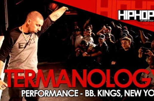 Termanology Joins Chris Rivers Onstage At B.B. Kings In NYC (10/01/14) (Video)