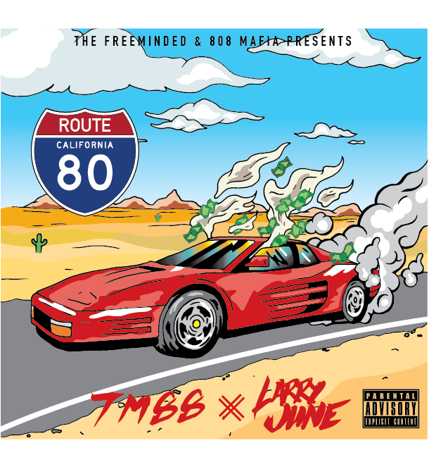 unnamed-4 Larry June x TM88 - Route 80 (Mixtape)
