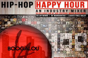 HHS1987 x Theory Communications Present: Hip Hop Happy Hour (October 10th 4pm-8pm)