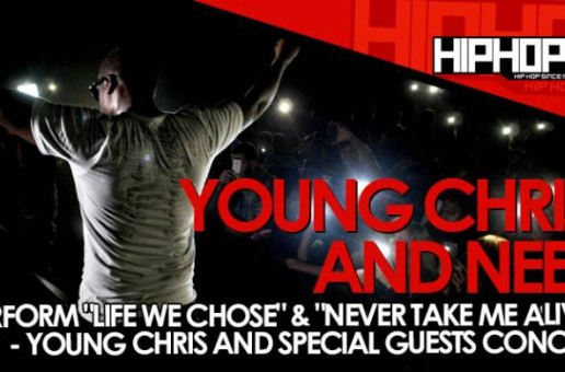 Young Chris Performs with Neef Buck At The TLA In Philly (10/09/14) (Video)