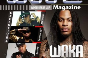 Waka Flocka Covers Winter Issue of The Hype Magazine