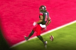 Too Early: Utah Player Drops Ball Before Goal Line In Celebration, Ducks Take It 100 Yards (Video)