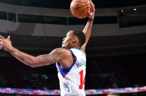 Duck!!: 76ers' K.J. McDaniels Throws Down Monstrous 1-Handed Alley-Oop