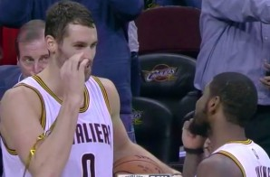 The Cleveland Cavs Insist Kevin Love & Kyrie Irving's New Celebration Isn't Weed Related (Video)