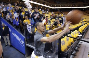 Golden State Warriors All-Star Stephen Curry Sinks Shot From the Tunnel (Video)