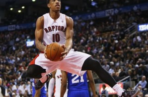 DeMar DeRozan Finishes A Circus Style 360 Lay Up Against The Philadelphia Sixers (Video)