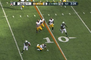 Watch The Crossover: Michael Vick's Juke Sends Steelers' Brice McCain To The Ground (Video)