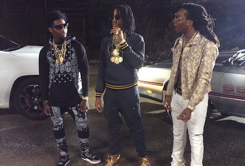 Migos Member Quavo Gets His Chain Snatched in DC, Reportedly By Chief Keef