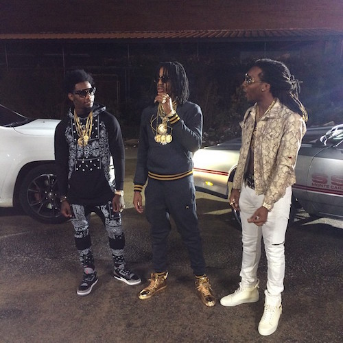 9AaGWNi Migos Member Quavo Gets His Chain Snatched in DC, Reportedly By Chief Keef