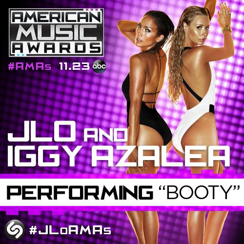 "B25HbeaCAAEBLtG J Lo & Iggy Azelea Set To Perform ""Booty"" Live At The 2014 AMA's!"