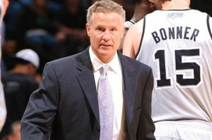 Fair Kick: 76ers Coach Brett Brown Kicks Ball For Technical Foul (Video)