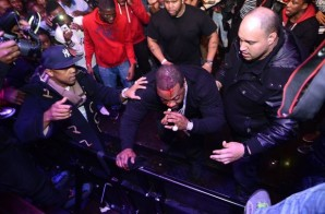 Busta Rhymes Suffers Head Injury After Falling Off Stage (Video)