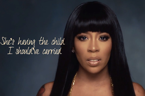 K Michelle – Maybe I Should Call (Lyric Video)