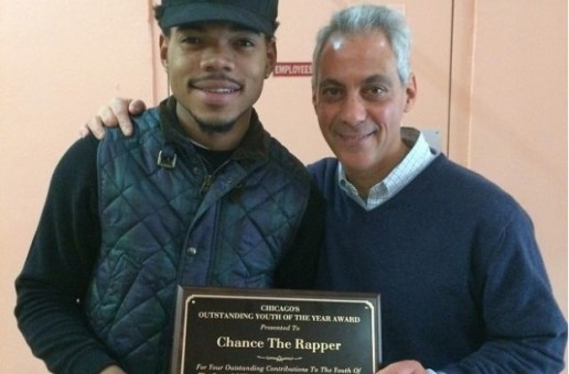 "Chance The Rapper Receives Honorary ""Outstanding Youth Of The Year"" Award In Chicago"