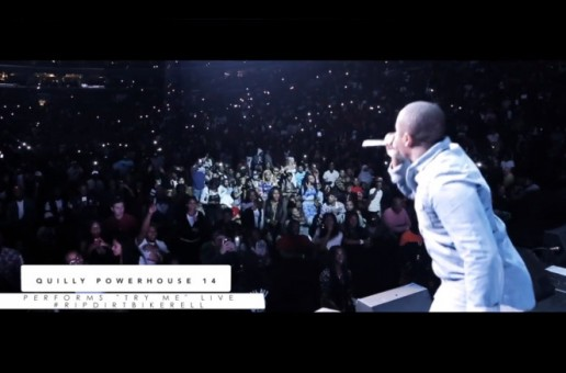 Quilly Performs Live at Philly's Powerhouse 2014 (Video)
