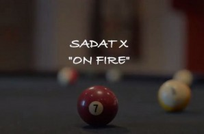 Sadat X – On Fire FT. Cormega & Lanelle Tyler (Video)