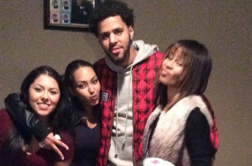 J. Cole Give's One Lucky Fan & Her Family An Early Listen To His Forthcoming LP!