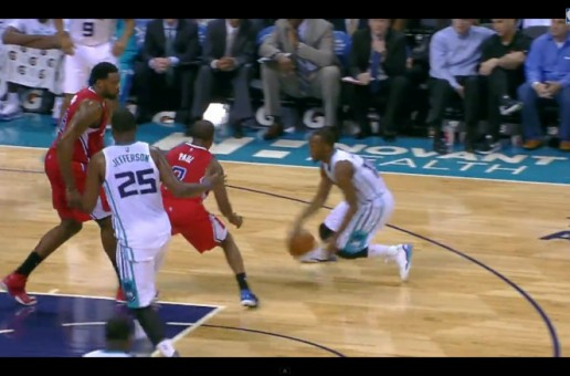 Hornet Buzz: Kemba Walker Crosses Over CP3 And Nearly Makes Him Fall (Video)