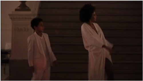 Solange_Son_No_Flex_Zone_Wedding_Reception-500x282 Solange & Her Son Julez Dance To 'No Flex Zone' At Her Wedding (Video)