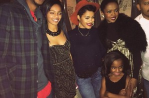 Teyana Taylor Meets Idol, Lauryn Hill At Her Daughter's Sweet Sixteen