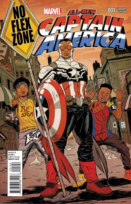 captain-america Rae Sremmurd Covers An All-New Marvel Comics Captain America Issue (Photos)