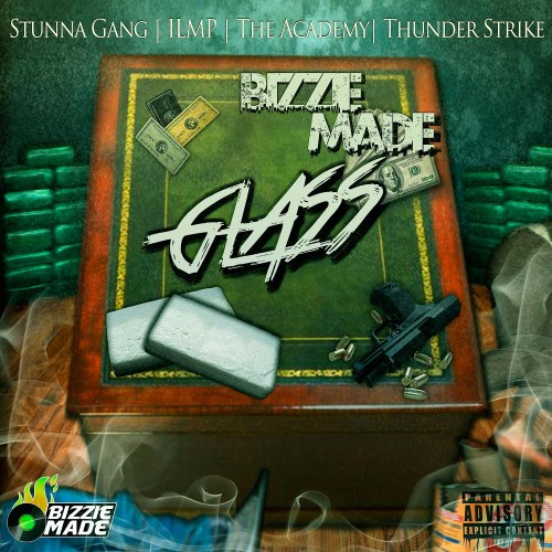 cover-2 Bizzie Made - Glass (Mixtape) (Hosted by DJ Plugg)