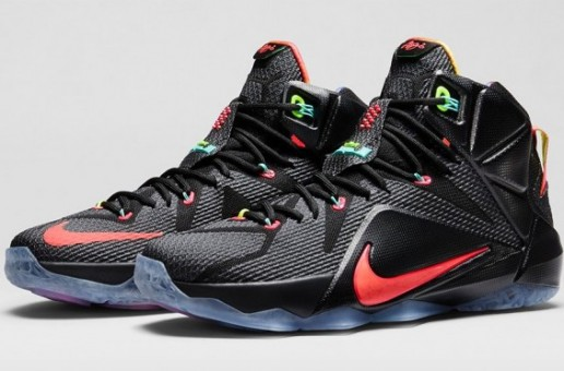 "Nike LeBron 12 ""Data"" (Photos)"
