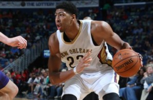 M.V.Pelican: New Orleans Pelicans Star Anthony Davis Flies Around Hornet's Defense For The Alley-Oop (Video)