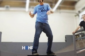 Tony Hawk Takes The World's First Real Hoverboard For a Ride (Video)