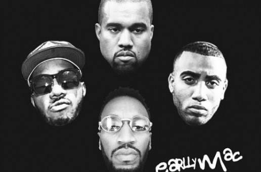 Earlly Mac – #LikeKanye Ft. Bizzy Crook & Chuck Inglish (Remix)