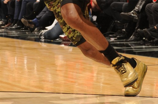 Lou Williams Rocks Exclusive OVO Air Jordan 3's Courtesy Of Drake (Photos)