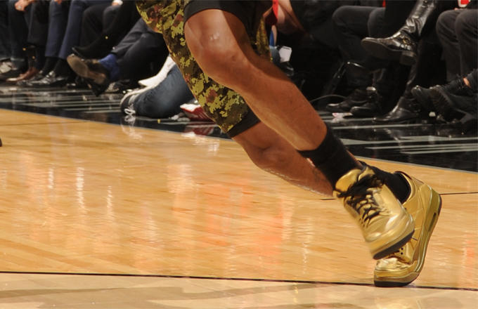 lou-drake Lou Williams Rocks Exclusive OVO Air Jordan 3's Courtesy Of Drake (Photos)