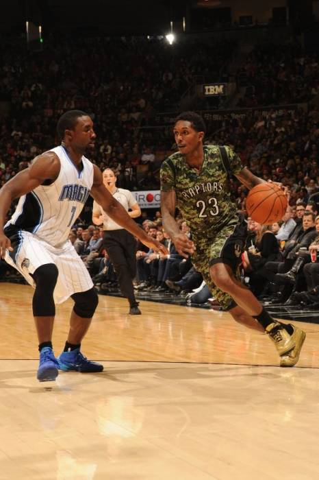 lou-williams-air-jordan-iii-3-ovo-01 Lou Williams Rocks Exclusive OVO Air Jordan 3's Courtesy Of Drake (Photos)