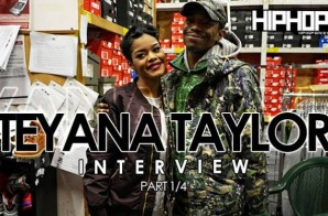Teyana Taylor Talks VII Album, Her Favorite Record, The Next Single & More (Part 1) (Video)