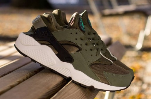 "Nike Air Huarache ""Iron Green"" (Photos)"