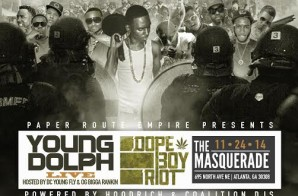 """Win Tickets To Young Dolph's """"Dope Boy Riot"""" In Atlanta On November 24th"""