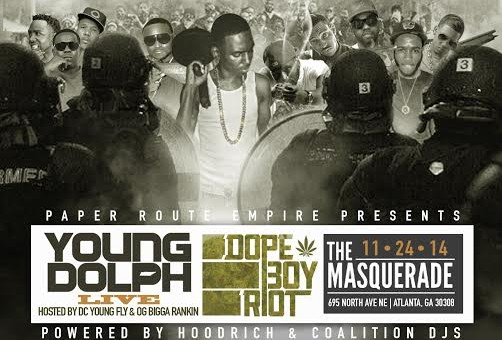"Win Tickets To Young Dolph's ""Dope Boy Riot"" In Atlanta On November 24th"
