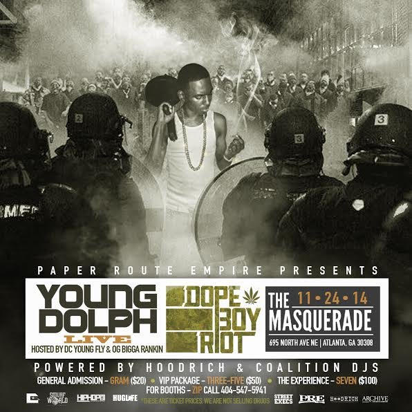 "unnamed-31 Paper Route Empire Presents: Young Dolph - ""Dope Boy Riot"" Live At Masquerade In Atlanta (11-24-14)"