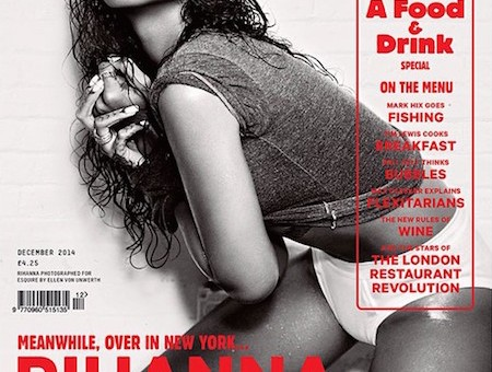 Rihanna Covers Esquire UK Magazine
