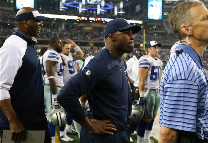 7752546 DeMarco Murray May Miss Week 16 Of The 2014 NFL Season Due To Hand Surgery
