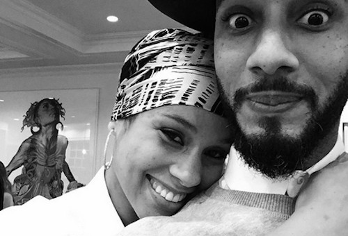 Alicia Keys & Swizz Beatz Welcome Baby Genesis Ali Dean