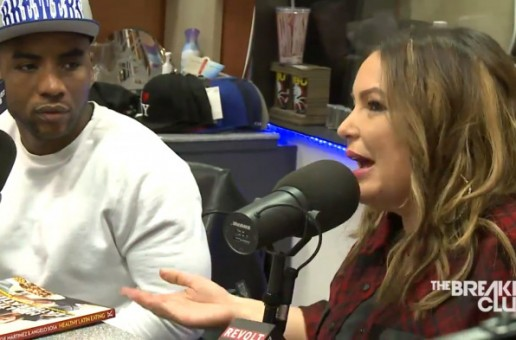 Angie Martinez Returns To The Breakfast Club (Video)