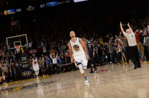 Steph Curry With The Shot Boy: Warriors Star PG Drills The Clutch Three To Beat The Magic (Video)